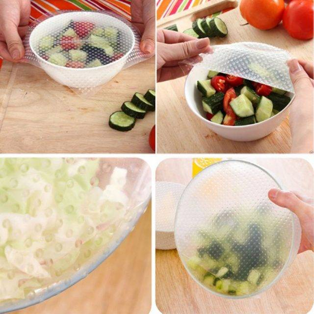 Fresh Food Silicone Wrapper Set