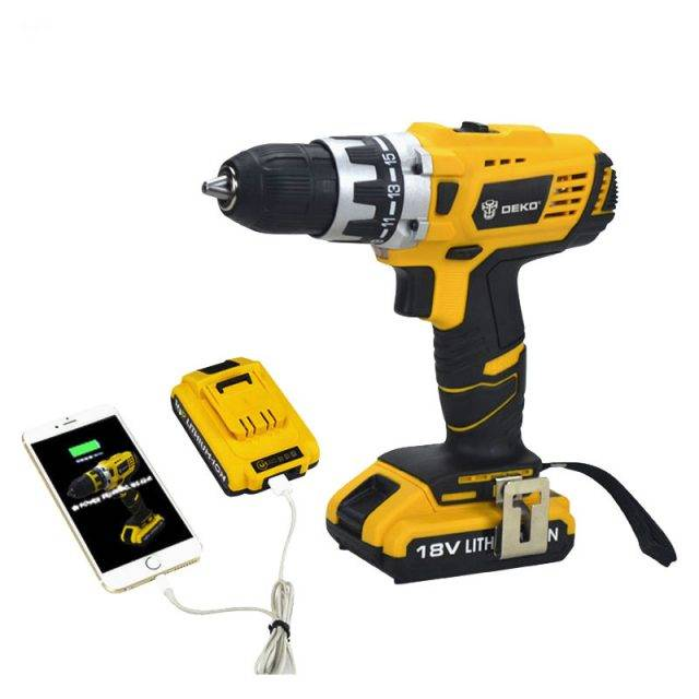 Mobile Power Drill