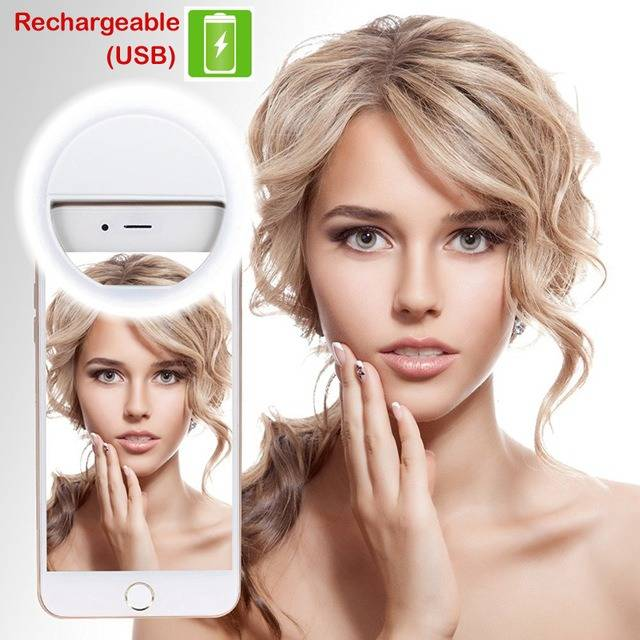 Strong Stylish selfie lighter