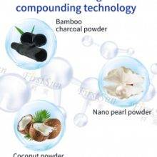 Teeth Whitening Bamboo Charcoal Pearls And Coconut Powder Stain Remover