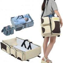 Multi-function Fordable Portable Crib Bed Shoulder Bag