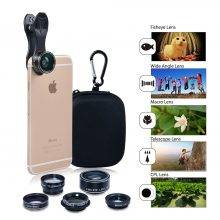 HD Camera Lens Kit Fisheye Lens