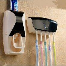 Automatic Toothpaste Dispenser Family Toothbrush Holder Set