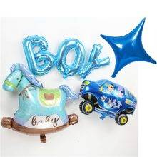 Helium Balloons For Baby Birthday Party