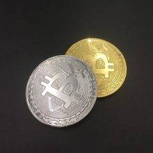 Cool Gift Gold plated Bitcoin!