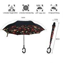 Double Layer Windproof Reverse Umbrella