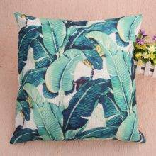 Leaves Pattern Pillow