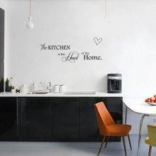 The Heart of the Home Wall Sticker