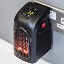 Portable Ceramic Space Air Heater Warm Wall-Outlet Electric Radiator Home Room Heating
