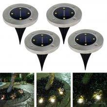 Waterproof Solar Powered LED Lights Outdoor Pathway Lights