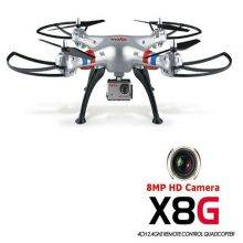 8.0MP Camera 2.4GHz 6 Axis Gyro RC Quadcopter 3D Roll