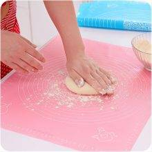 Soft Rolling Pastry Dough Mat With Calibration High Temperature Resistant
