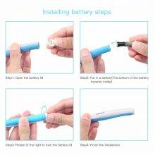 Teeth Whitening Sonic Vibration LED Light Dental Pick